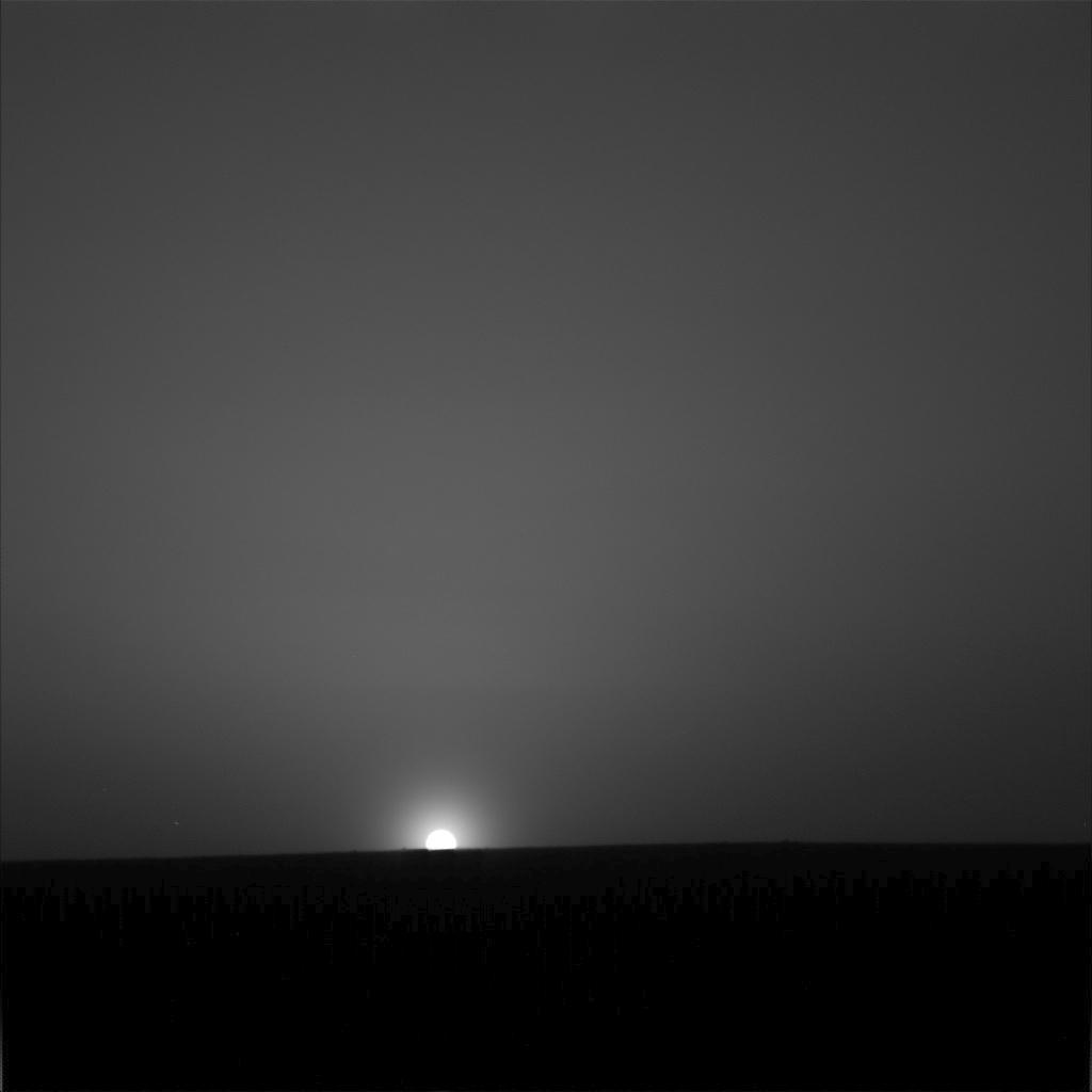 Sunrise On Mars NASA - Sunrise looks like mars