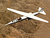 AD-1 in flight, seen from above.