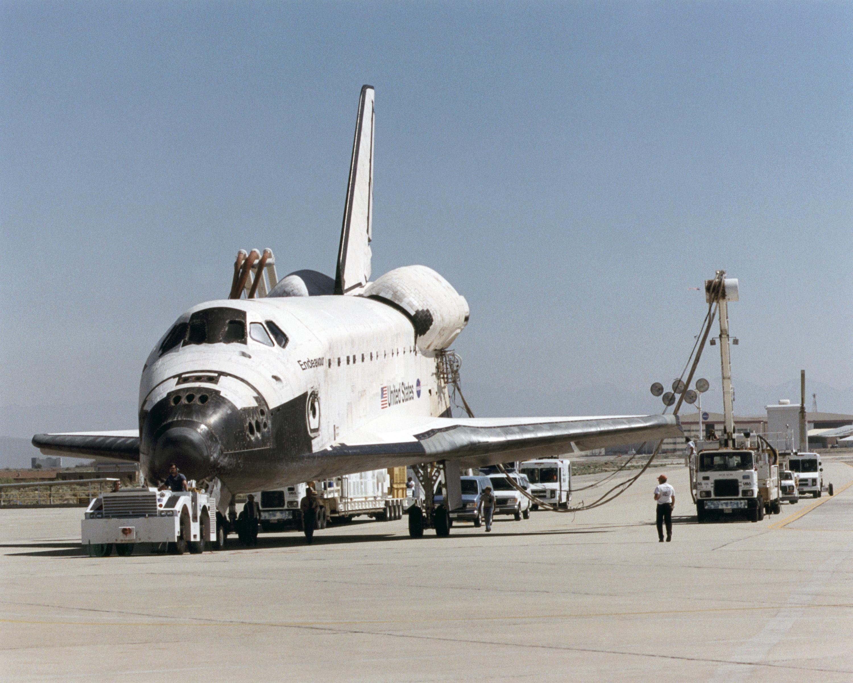 Image result for sts-100 landing