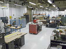 Building 703 Fabrication Shop Nasa