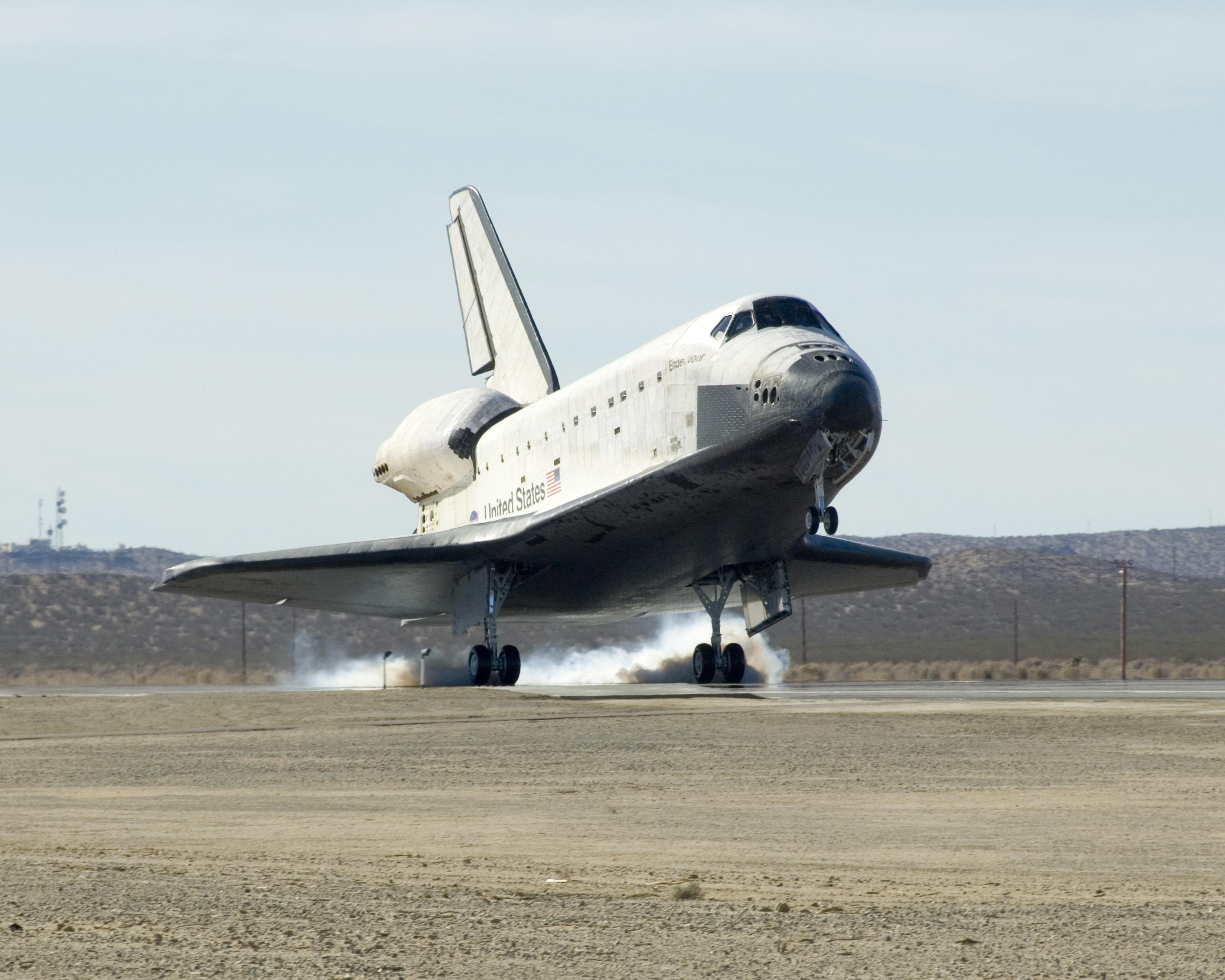 space shuttle landing length - photo #3