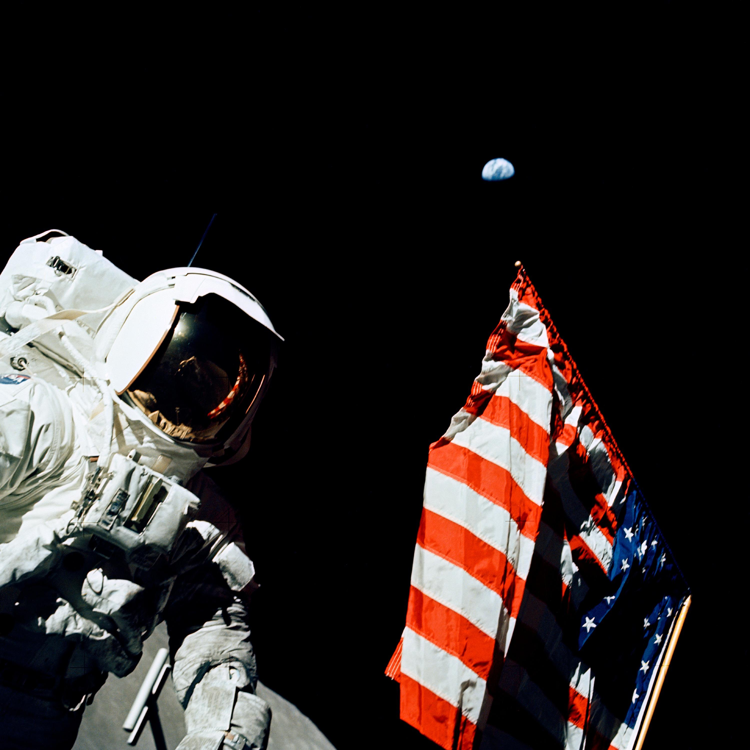 Moon Images Nasa a Scientist on The Moon