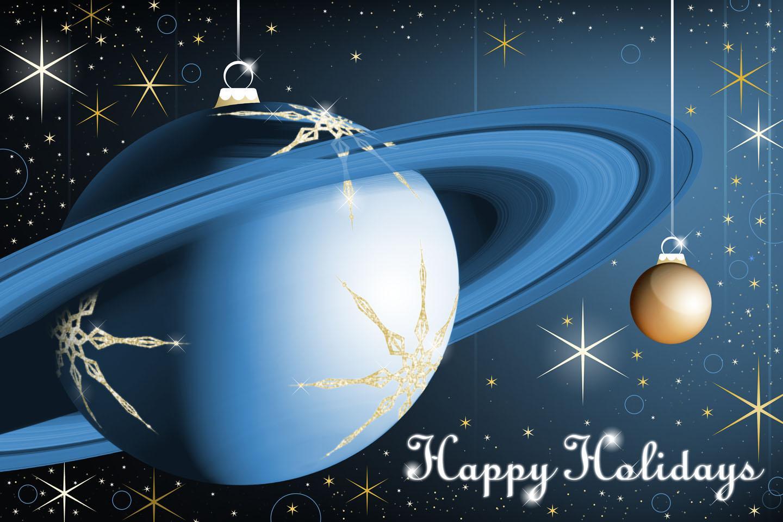 Открытки новый год космоса, открытка днем