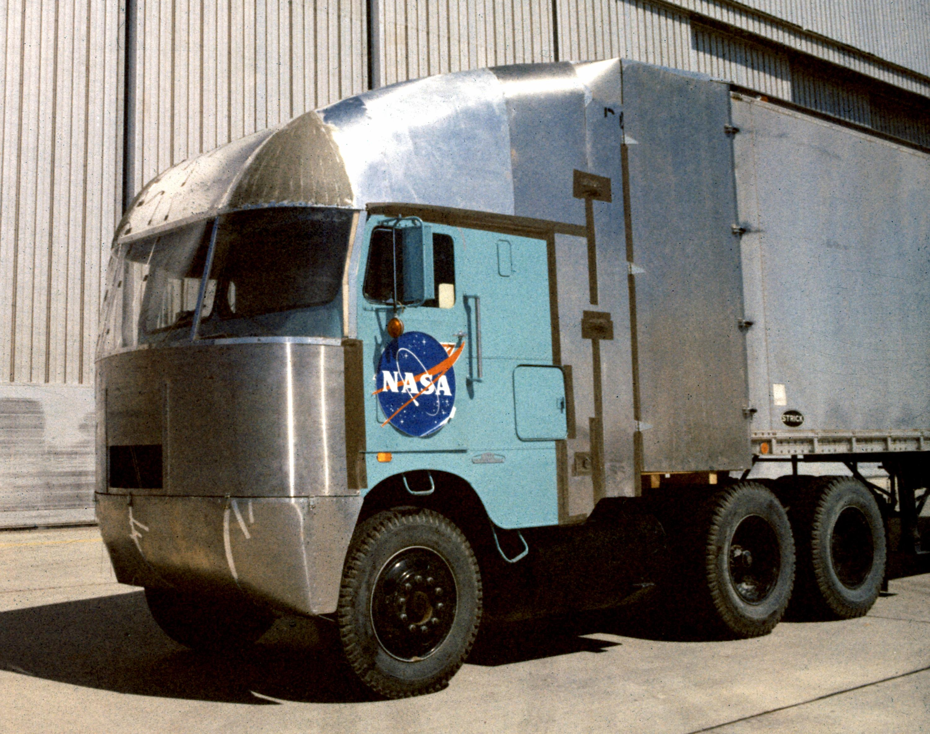 Aerodynamic Truck Research Image Gallery | NASA