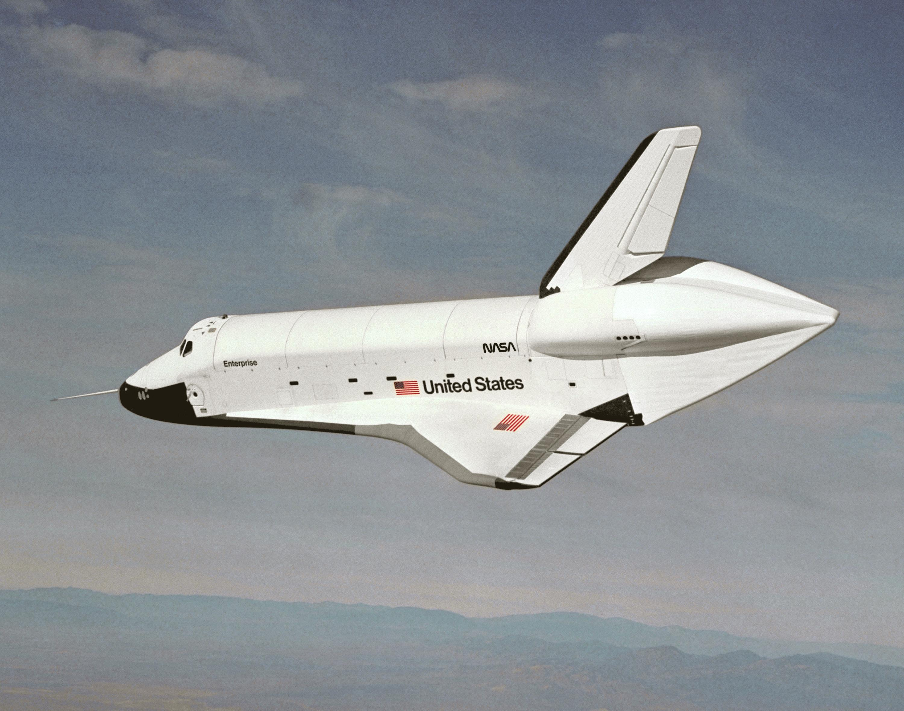 first space shuttle prototype -#main