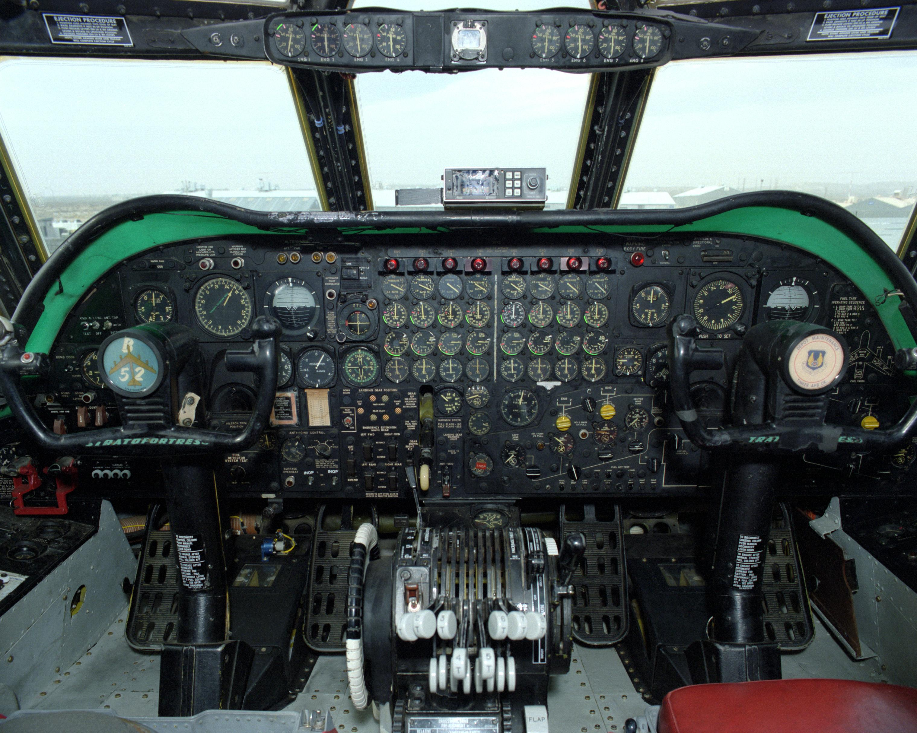 Instrument Panel of B-52 Stratofortress | NASA