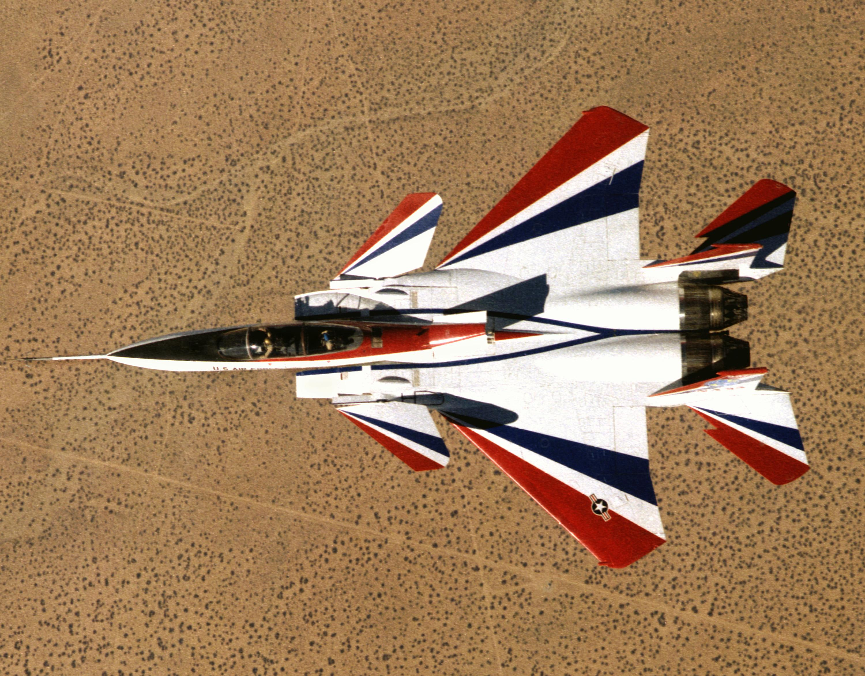 Past Projects: F-15 Advanced Control Technology for Integrated Vehicles  (ACTIVE)