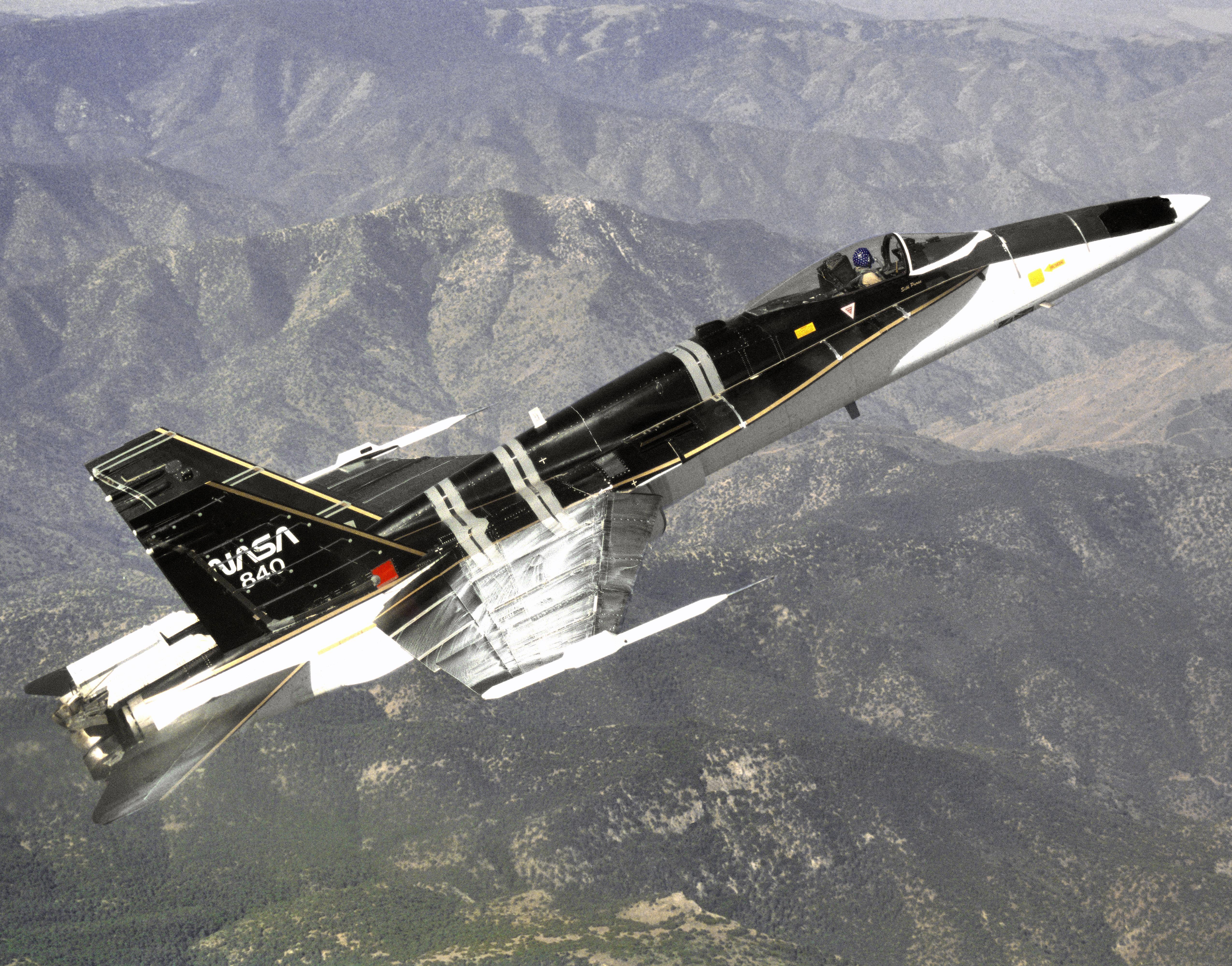 F/A-18 High Alpha Research Vehicle | NASA