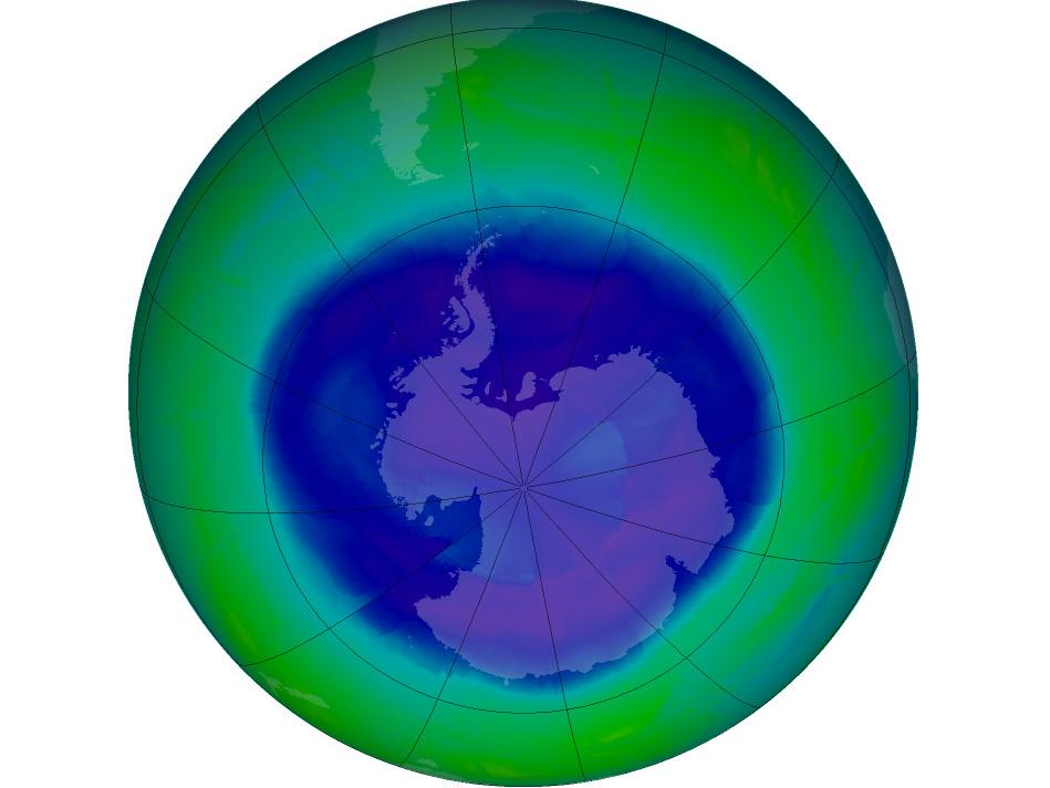 Earth Day >> Ozone Hole | NASA