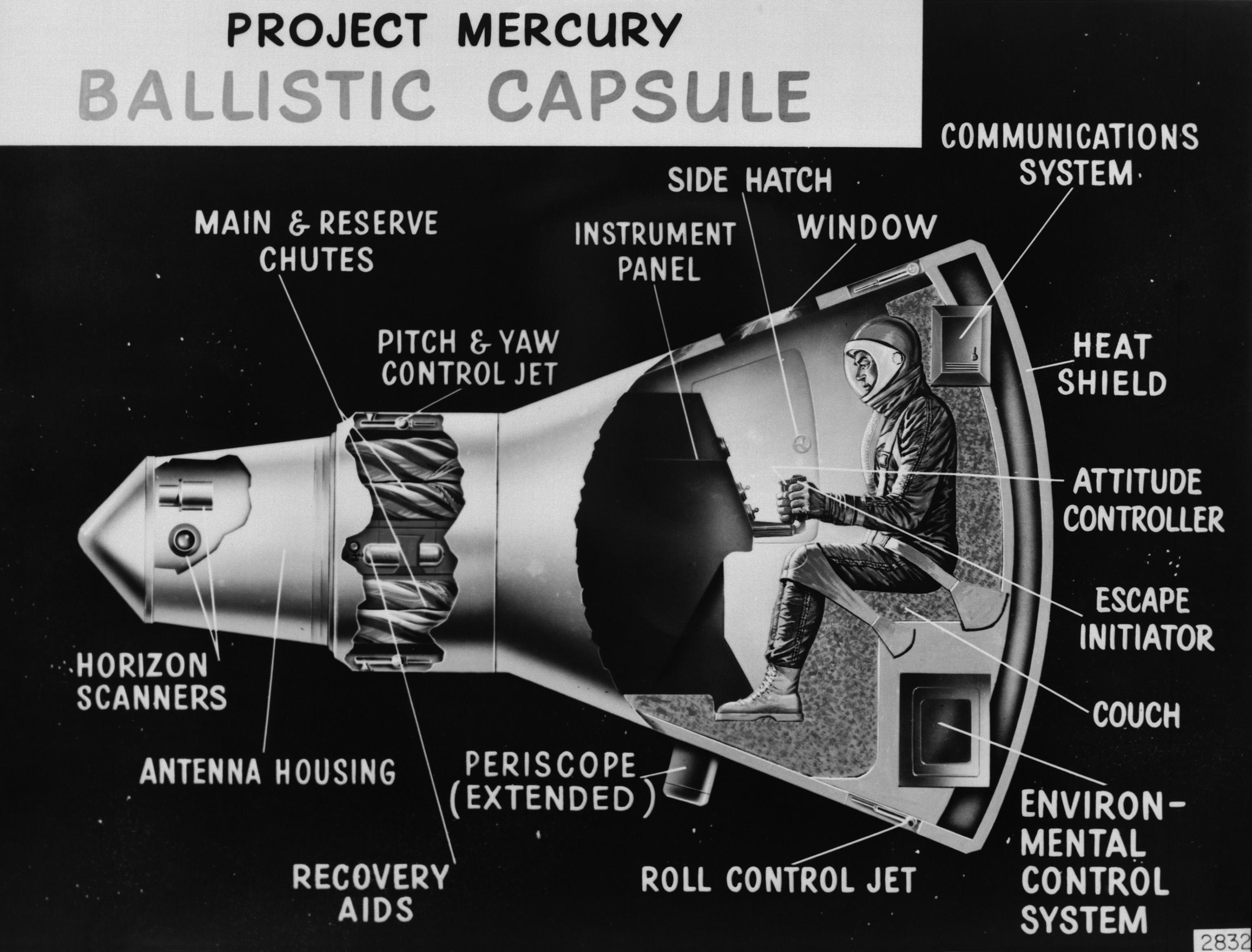 mercury nasa landed - photo #43