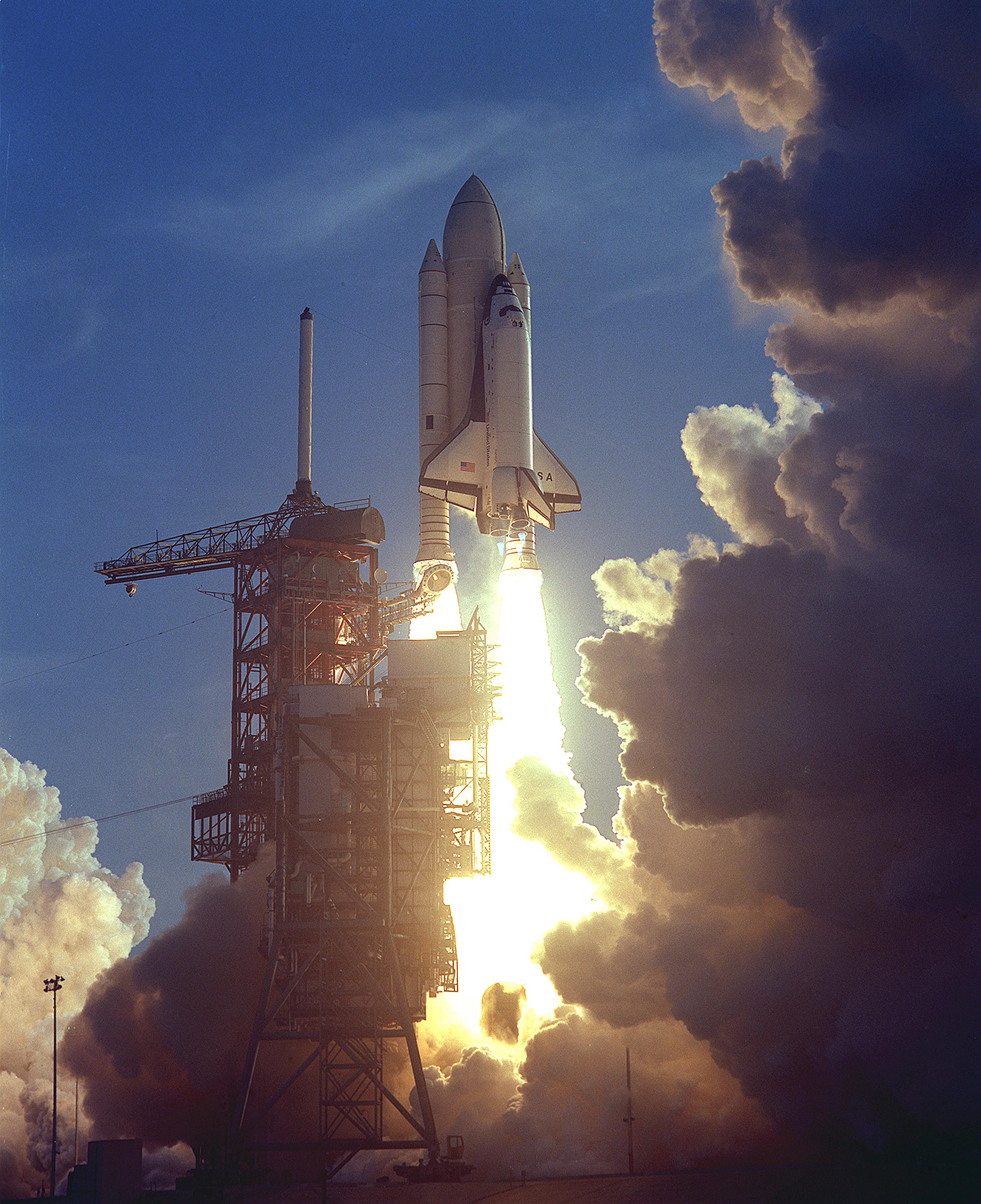 how many space shuttle missions were launched - photo #7