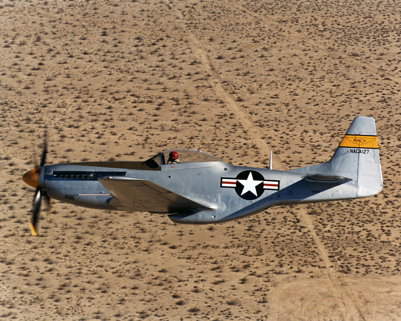 P 51d Mustang Nasa