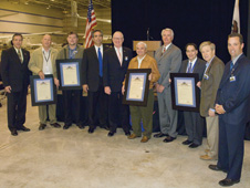 DAOF dedication ceremony with local, state and federal representatives pictured