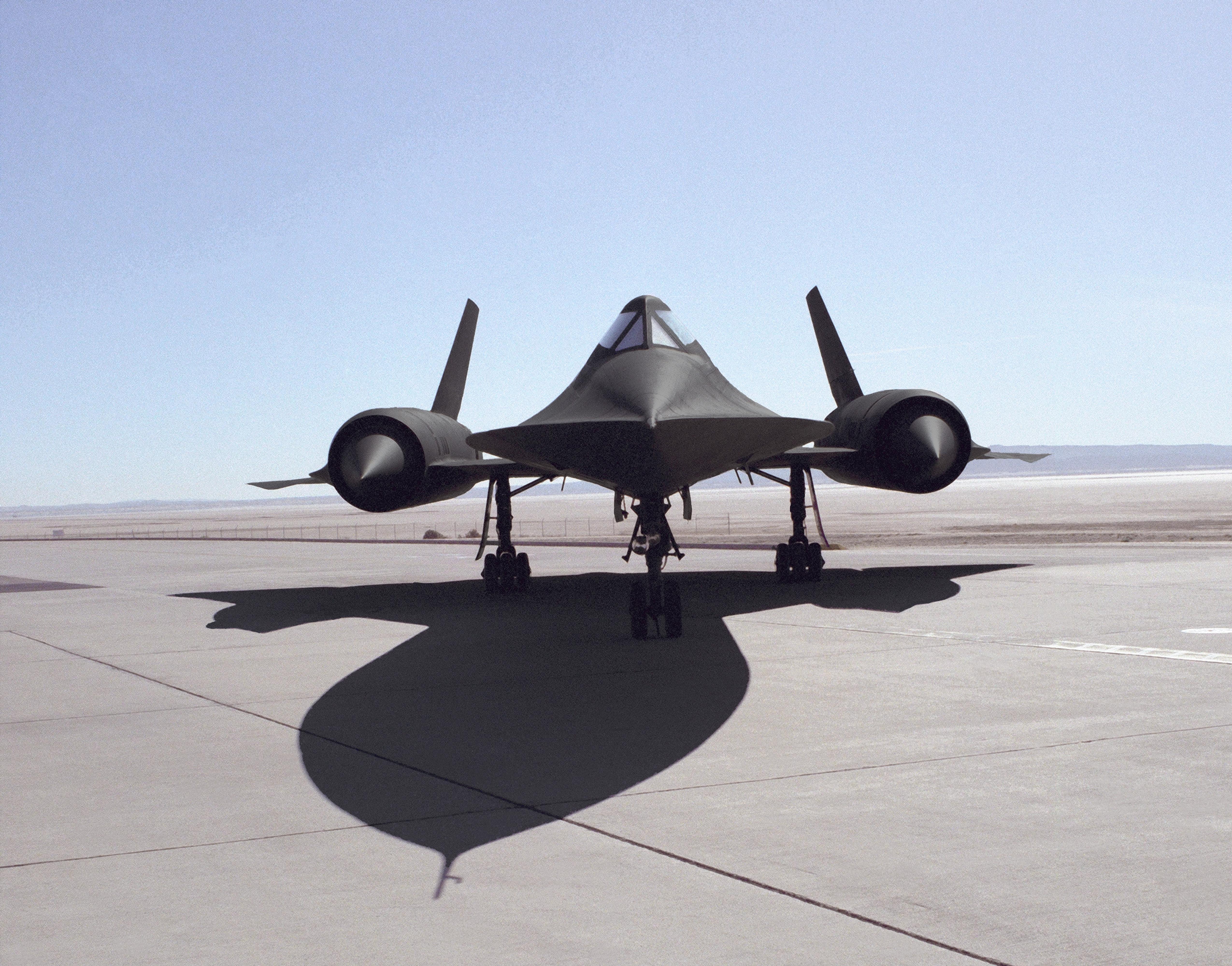 United States Air Force USAF Lockheed SR-71 Blackbird Military ...