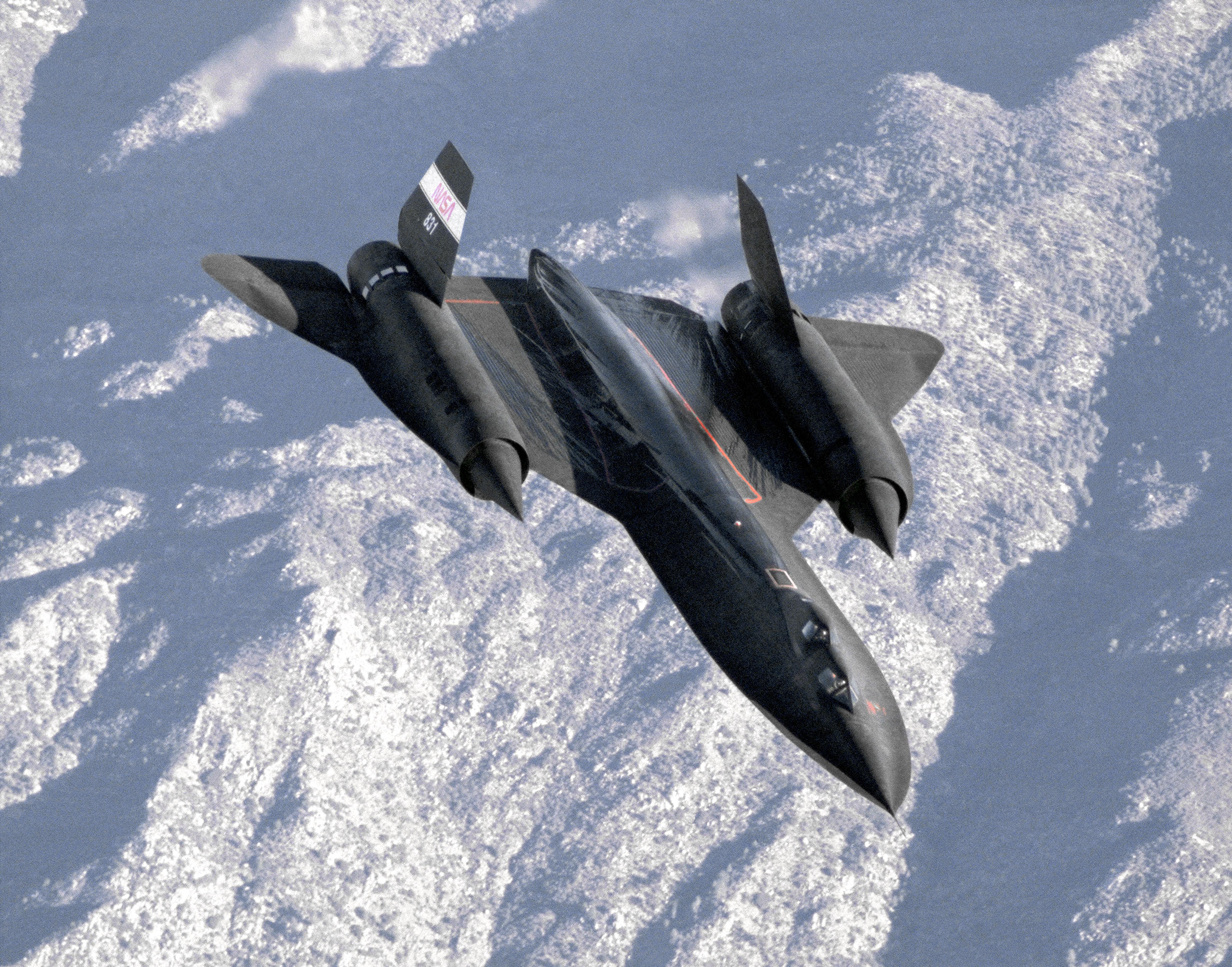 Where Are They Now: SR-71 #831 | NASA