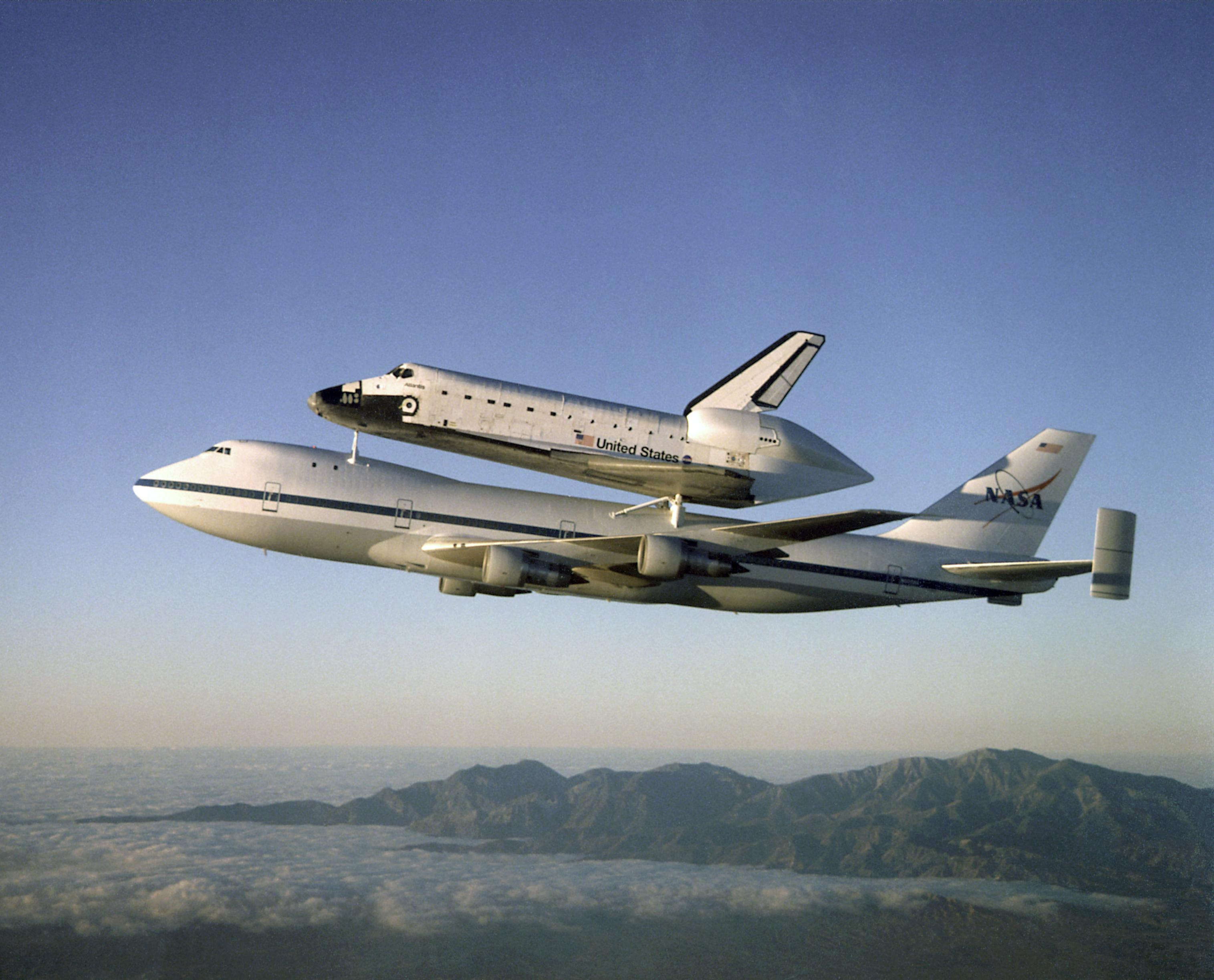 space shuttle transport plane - photo #10