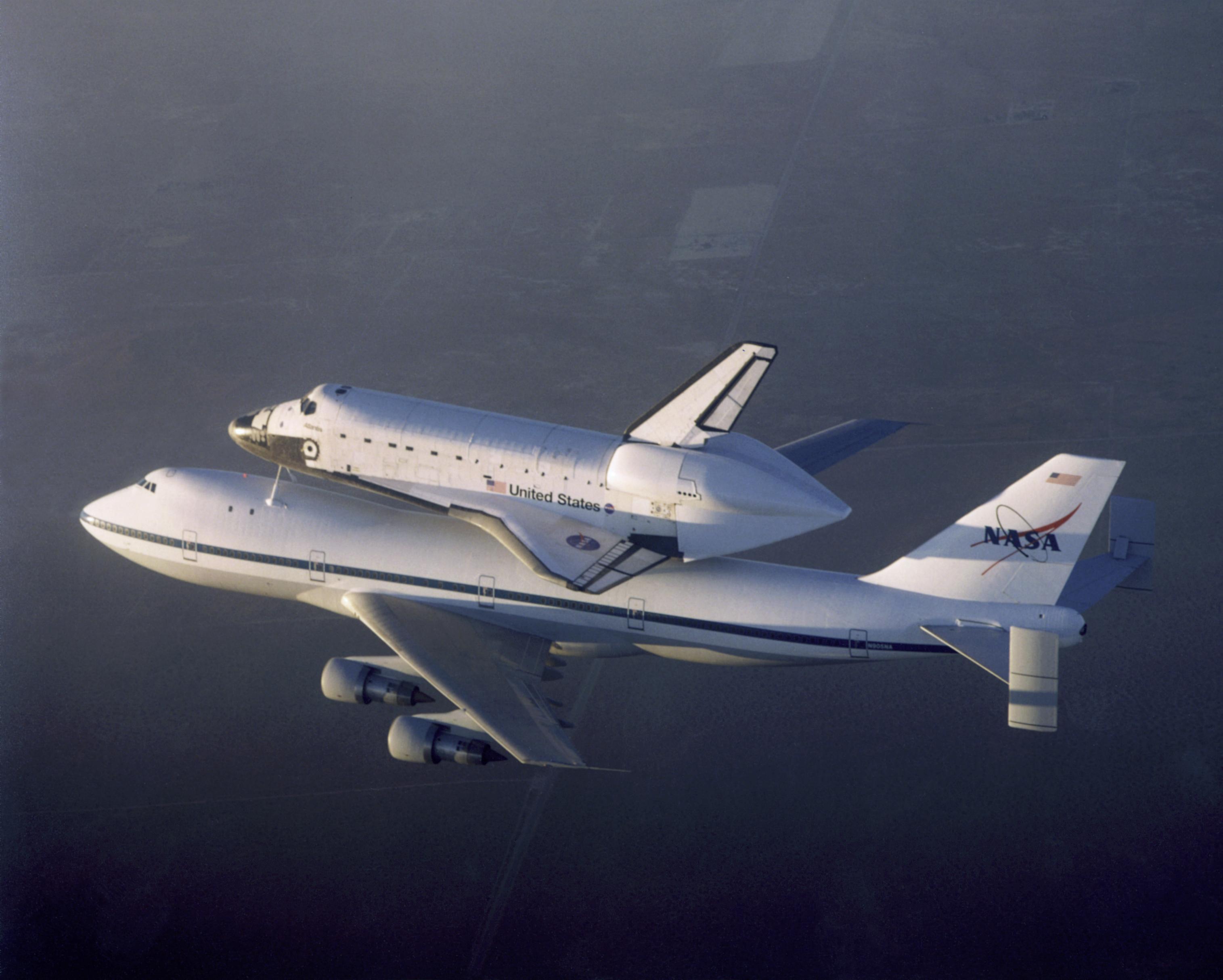 Shuttle Carrier Aircraft (SCA) Space Shuttle Ferry | NASA