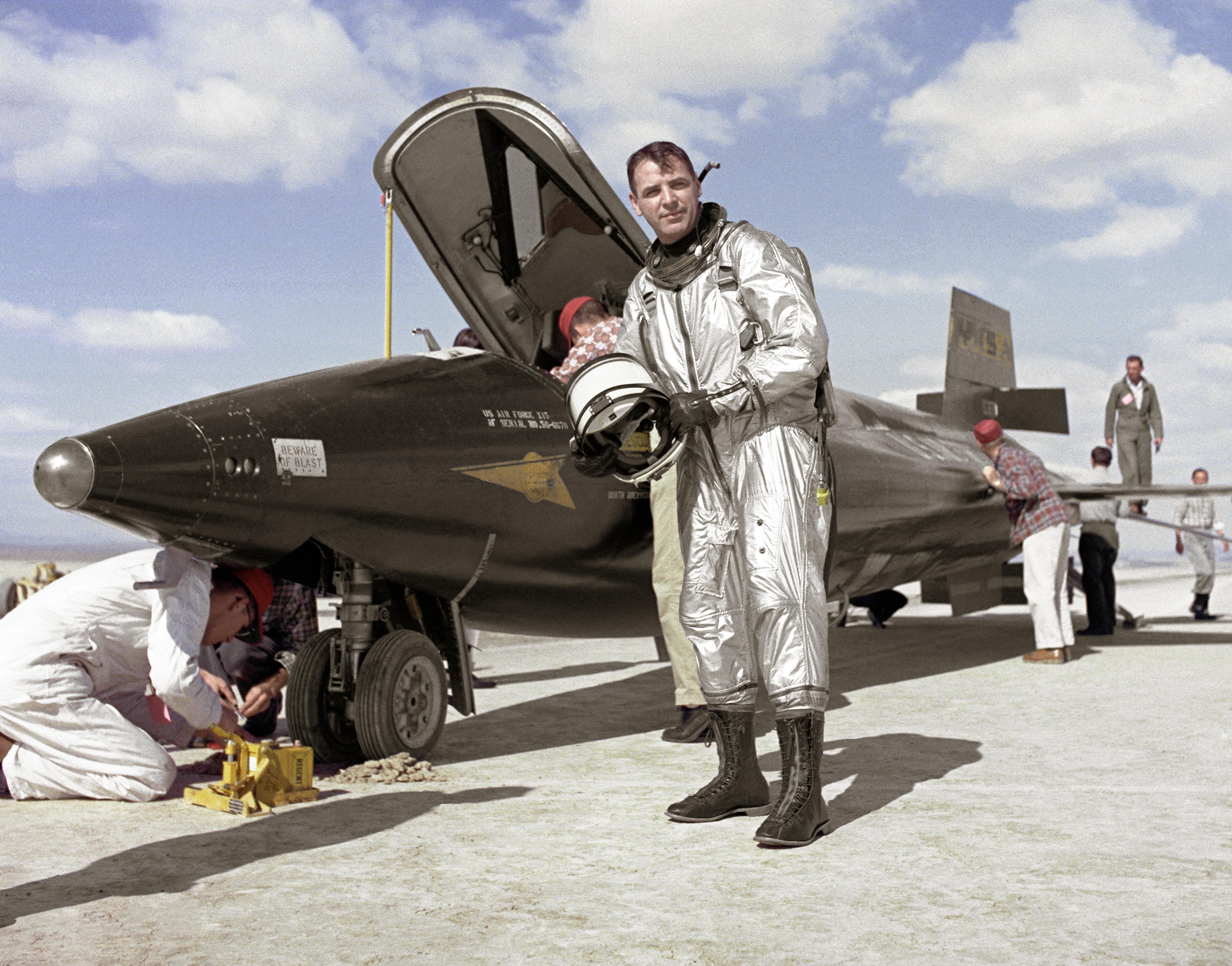 X-15 Pilot Major Robert M. White | NASA