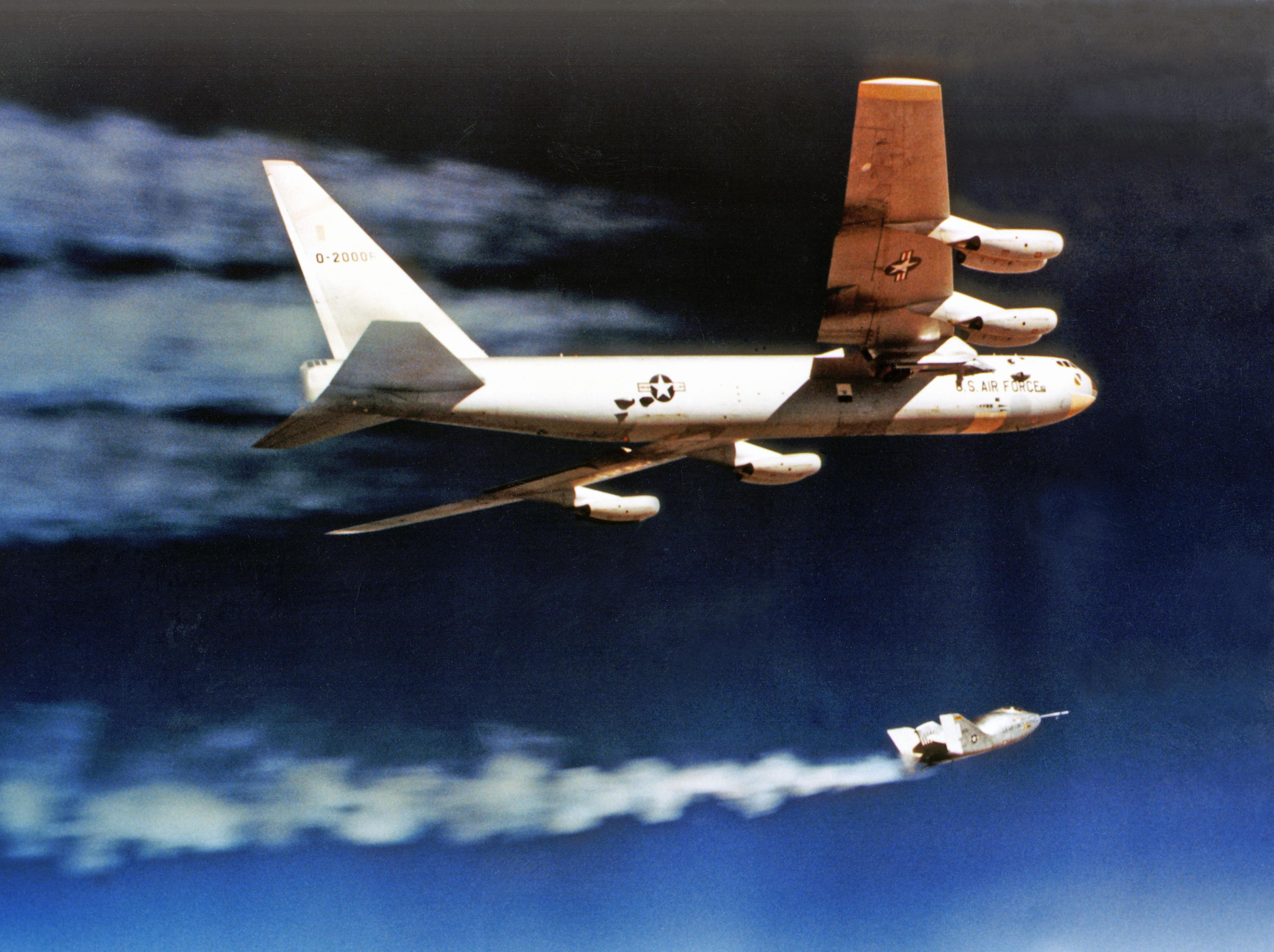 X-24A Drop Launched from B-52 Mothership | NASA