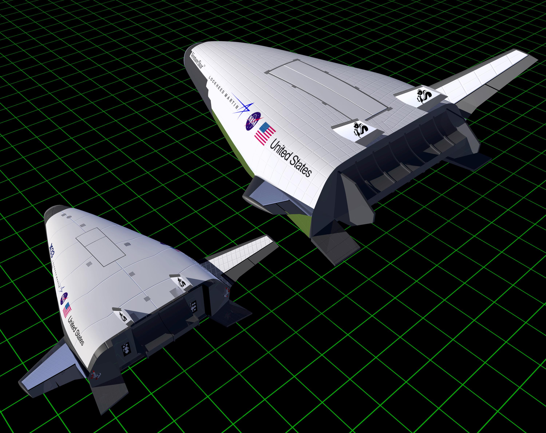 artist s concept x 33 and venturestar nasa