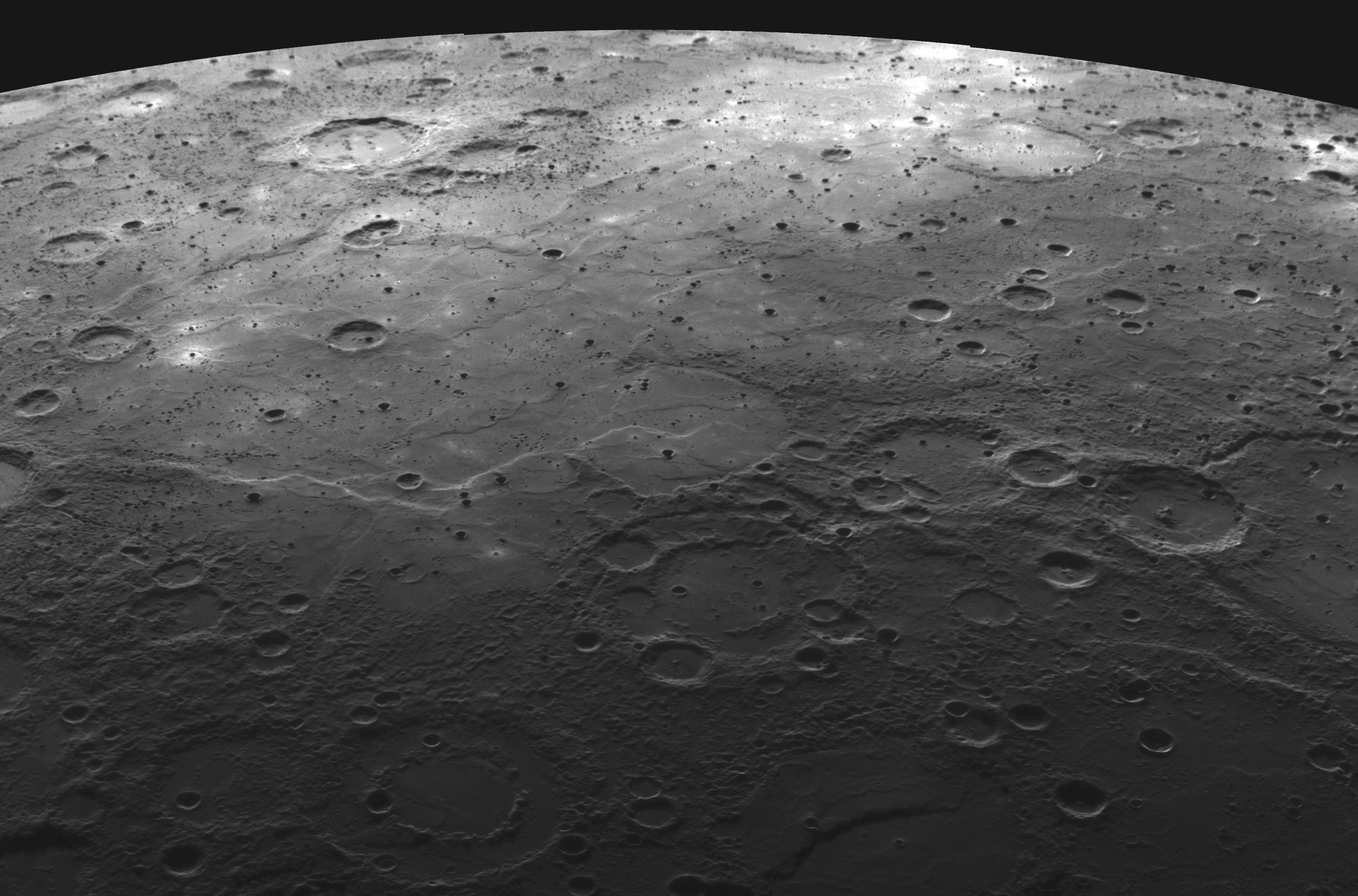 planets moons craters - photo #3