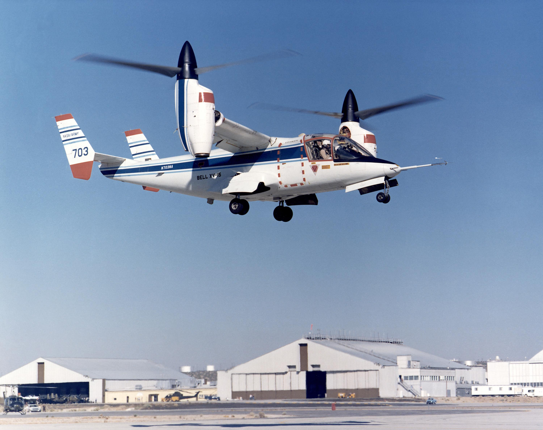 V 22 Osprey >> Bell XV-15 Tiltrotor   NASA