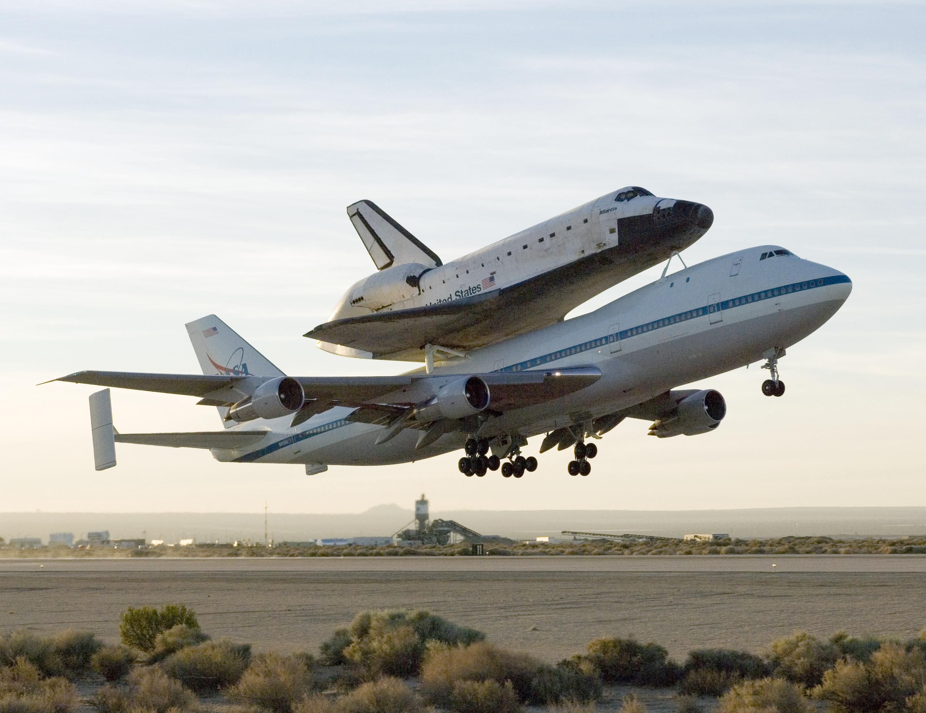 kelly afb space shuttle carrier aircraft - photo #8