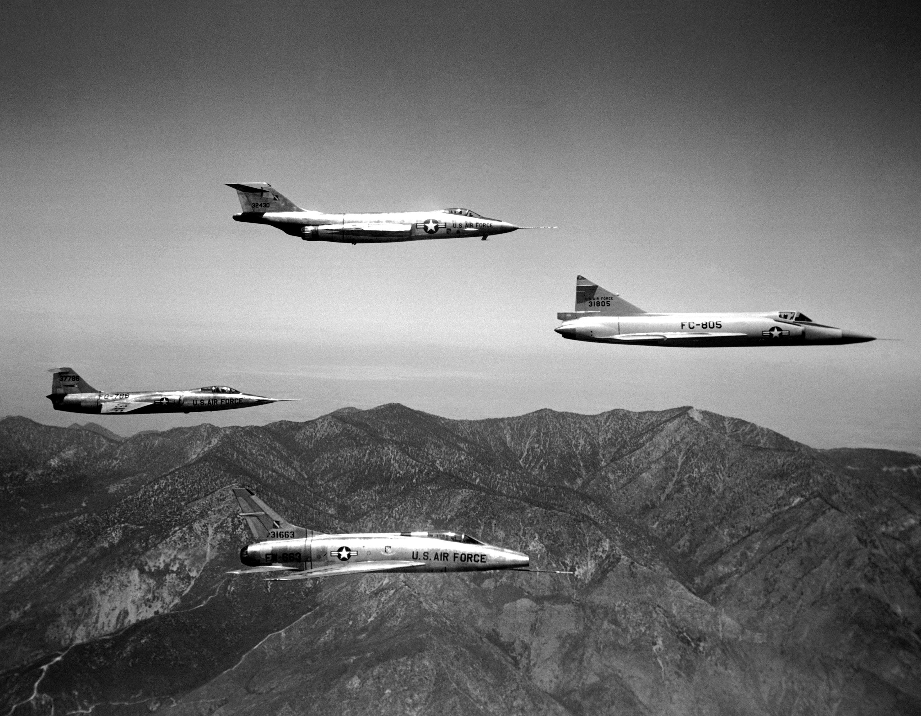 f 104 nasa dryden test fleet - photo #42
