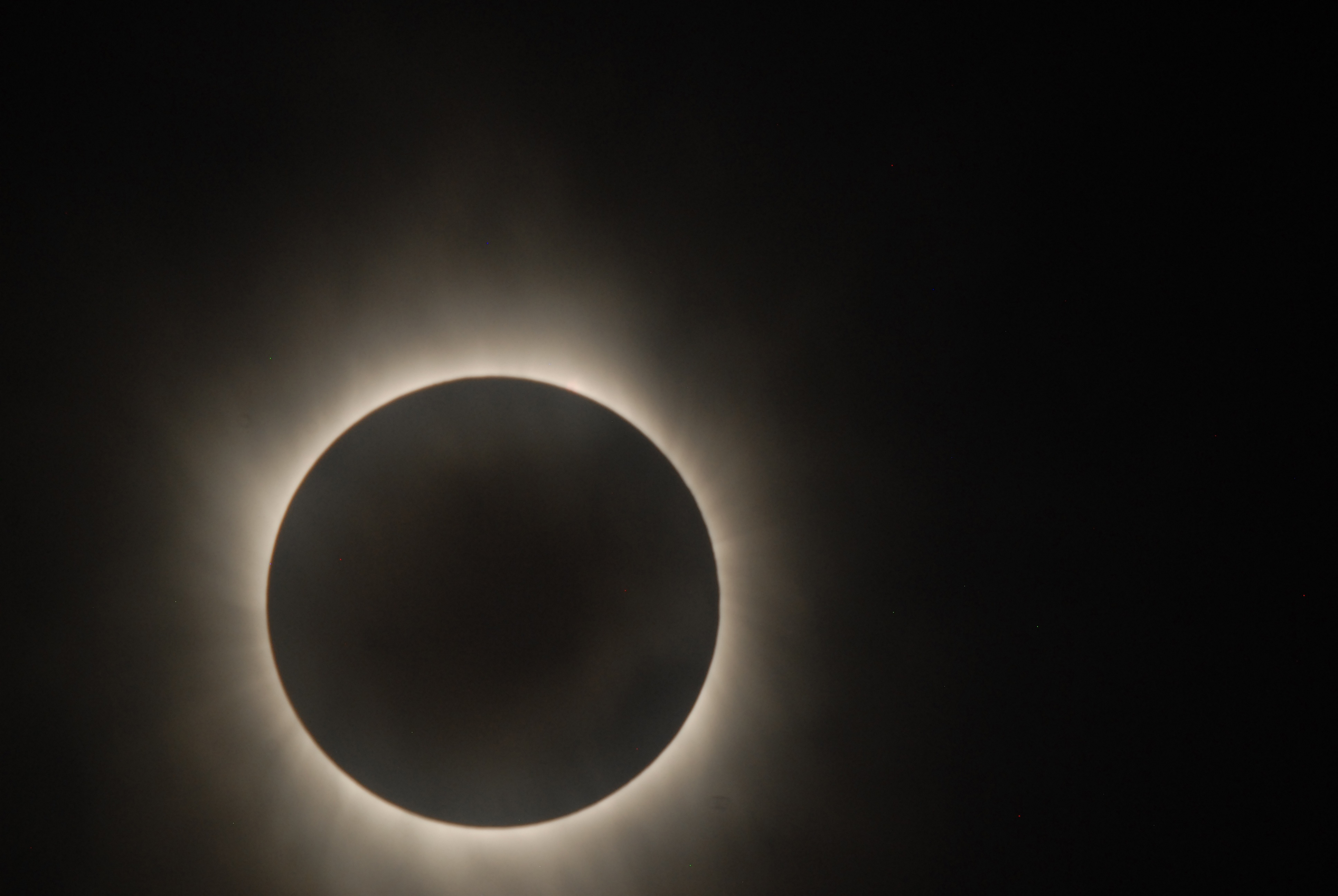 Images of Solar Eclipse as seen by Hinode Satellite   NASA