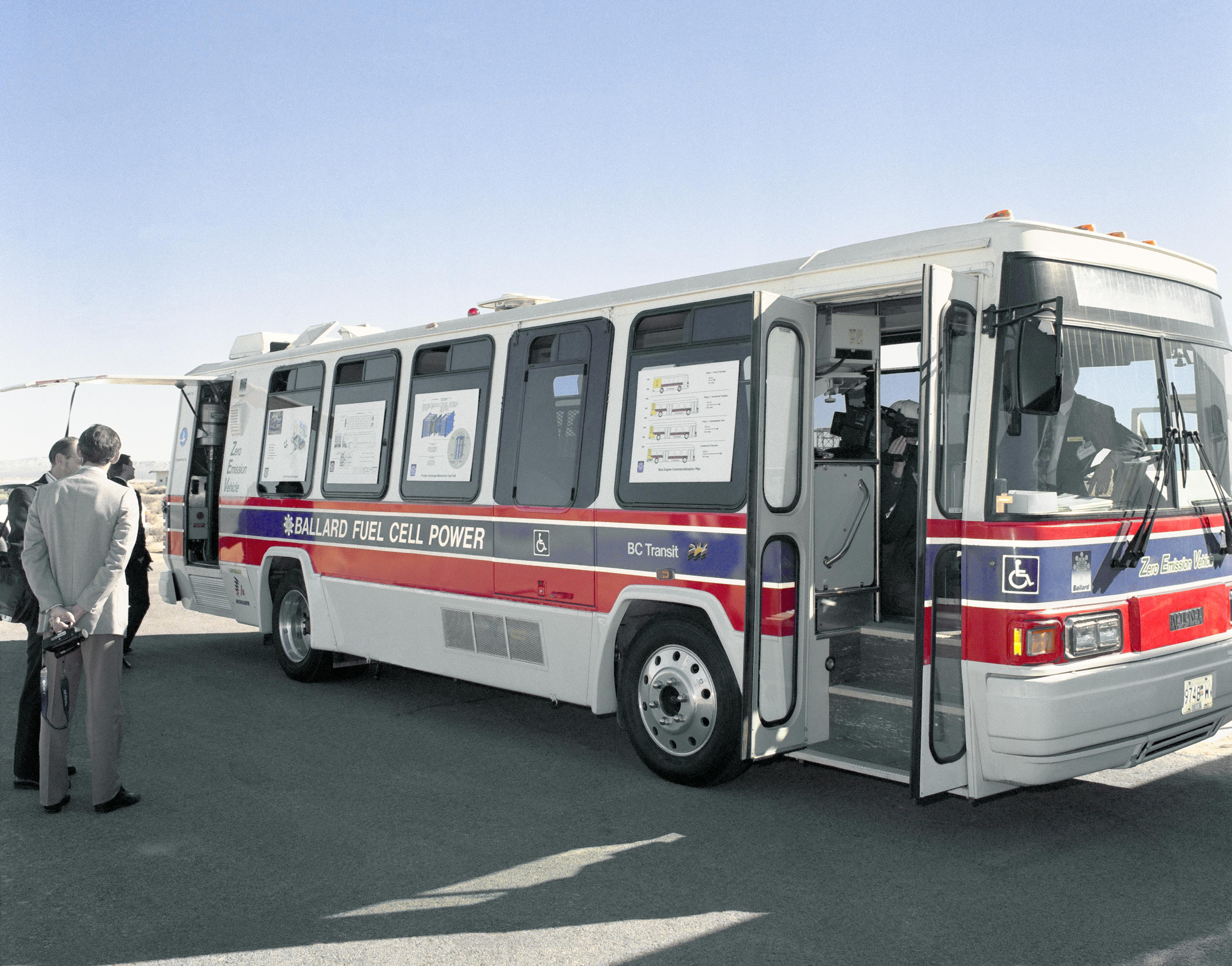 What Is A Fuel Cell >> Ballard Fuel-Cell Bus | NASA