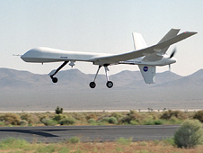 Remotely-piloted Altair unmanned aerila vehicle.