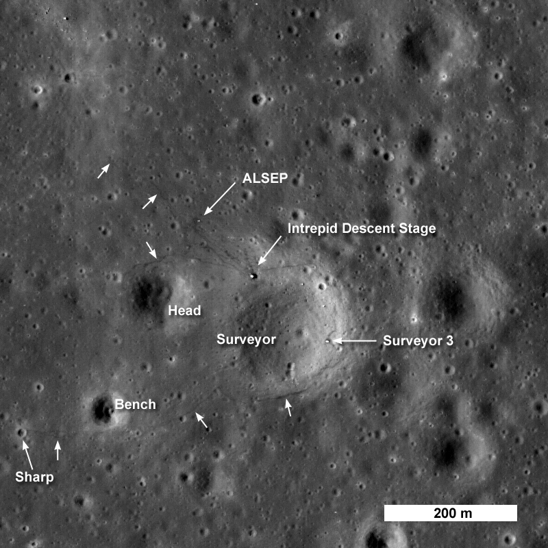 lunar landing sites visible from earth - photo #9
