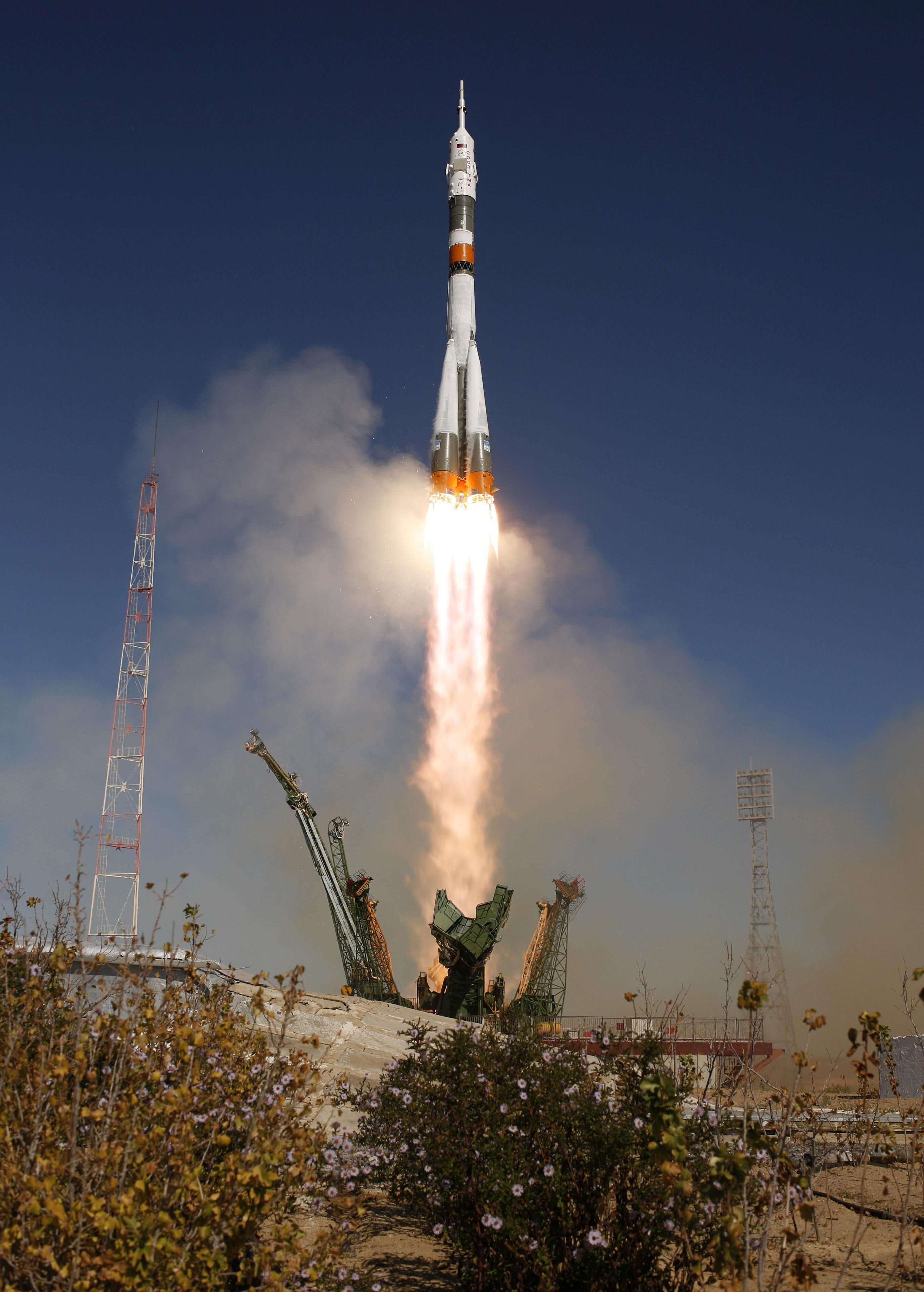 ракета союз 1 #11