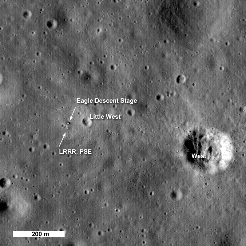 apollo 11 landing site earth - photo #2