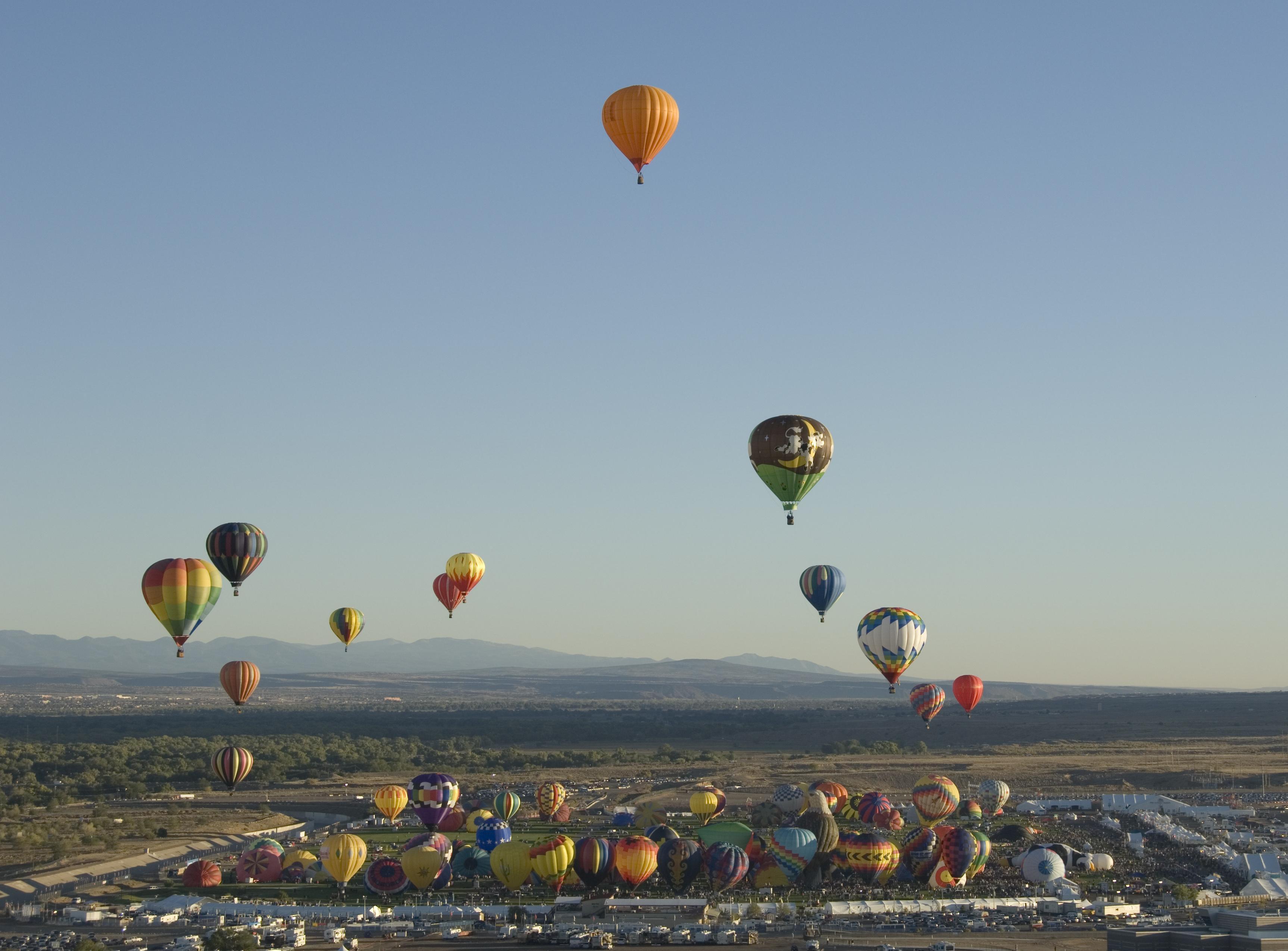 Albuquerque balloon fiesta nasa