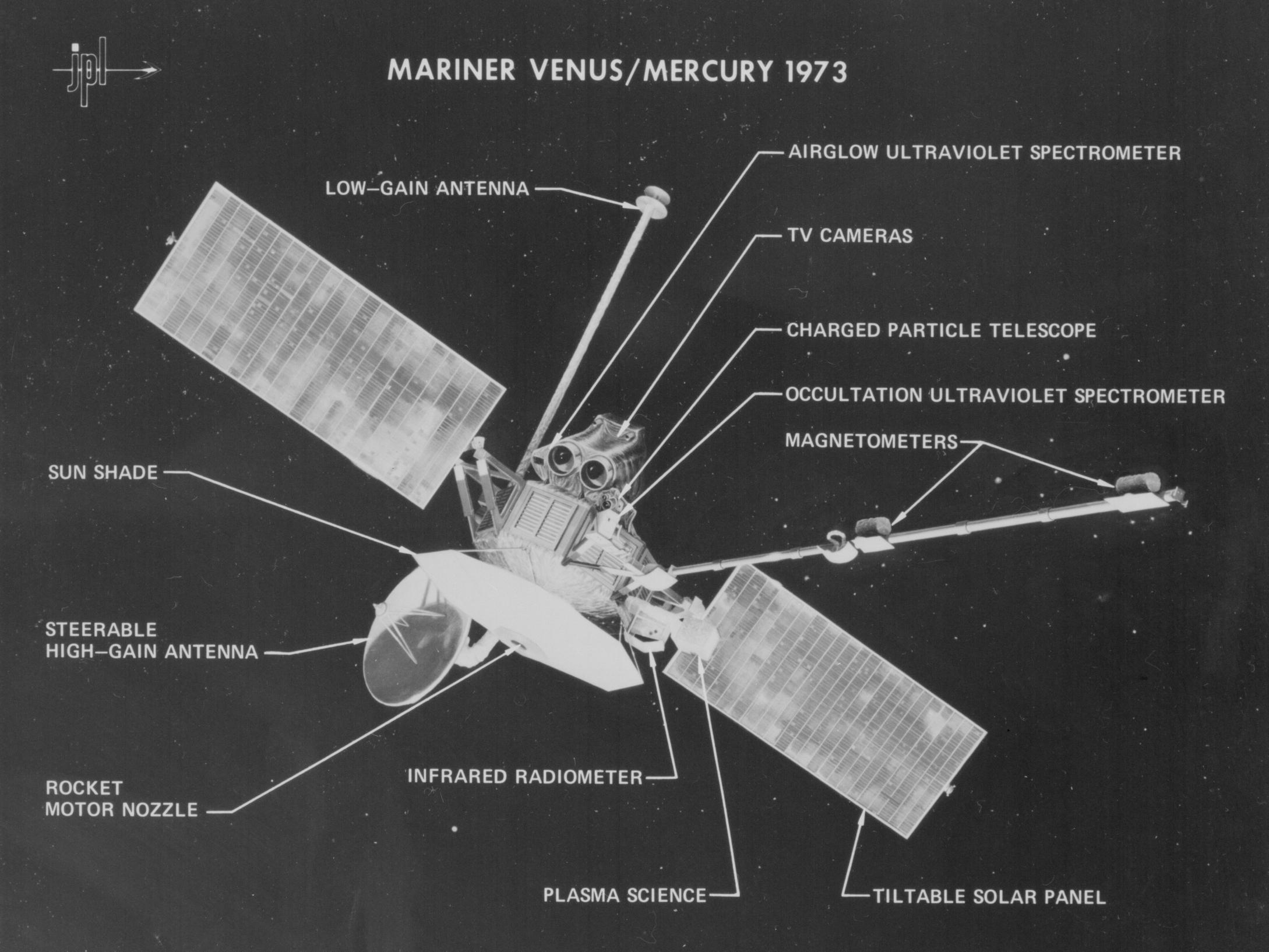 Mariner 10 Nasa Infrared Video Of A Hovering Lander