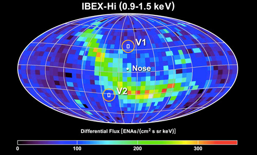 Voyager Data vs. IBEX Data