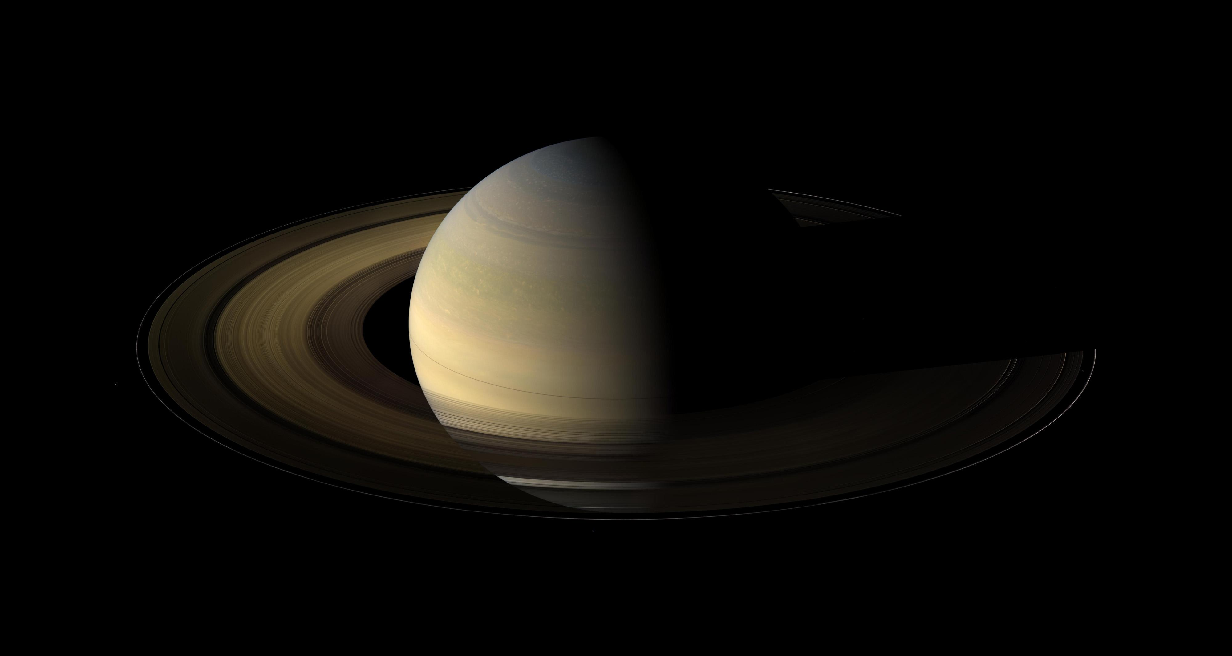 Of planet earth as a point of light between the icy rings of saturn - 394218main_pia11667_full Jpg Cassini S View Of Saturn