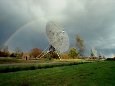 Westerbork Synthesis Radio Telescope, located near Westerbork, the Netherlands
