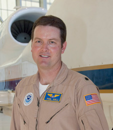 Philip G. Hall Global Hawk deputy project manager at NASA's Dryden Flight Research Center, Edwards, Calif.