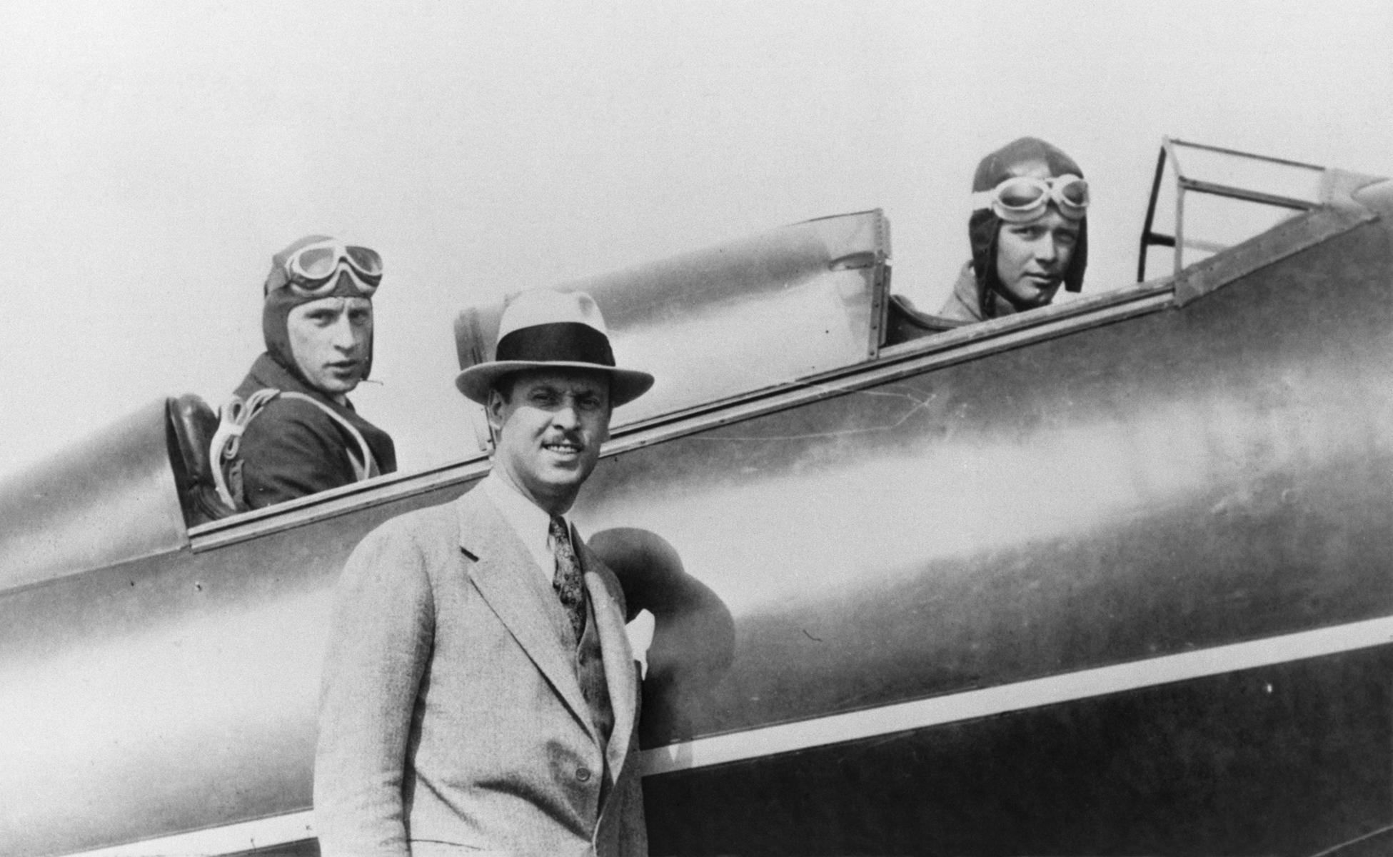 1929 Propeller Research Tunnel Charles Lindbergh Hamilton-Weick Aviation Photo