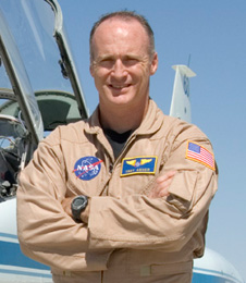 Troy A. Asher is a research test pilot and aerospace engineer at NASA's Dryden Flight Research Center.