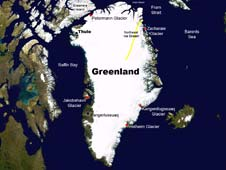 NASA's Operation IceBridge mission will make science flights in and near Greenland