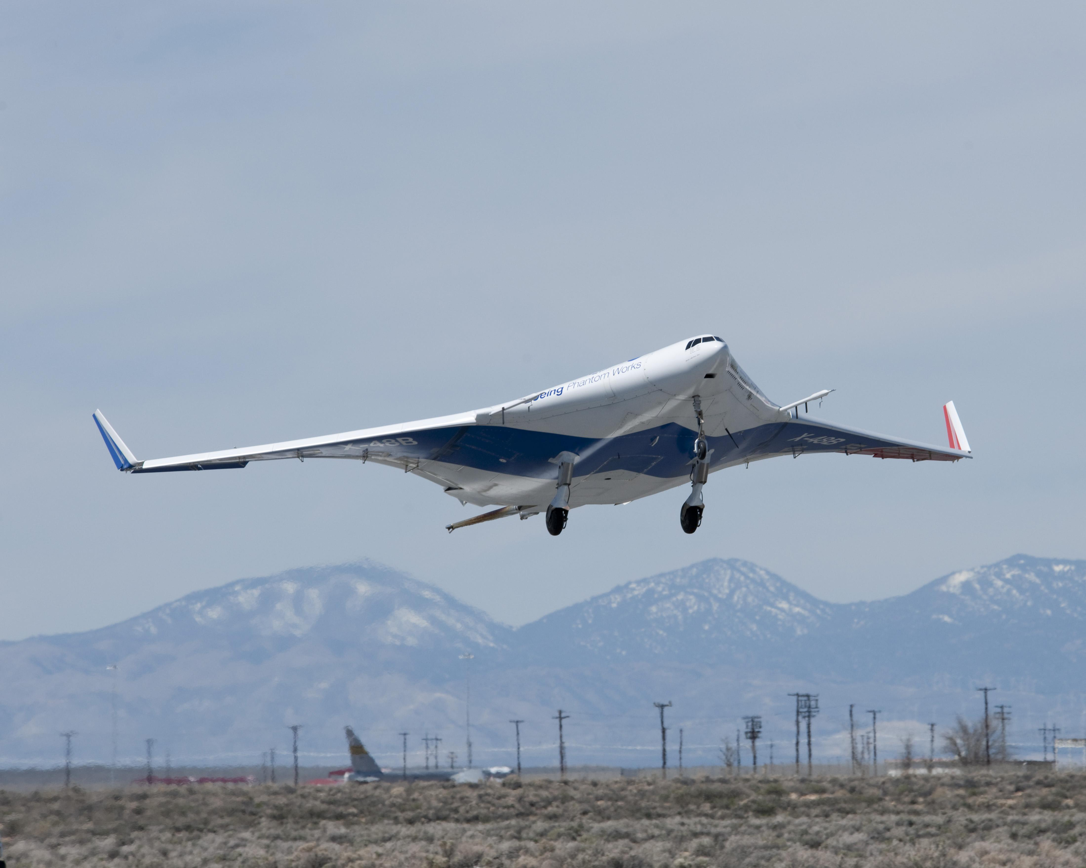 nasa x 48 drone aircraft - photo #10