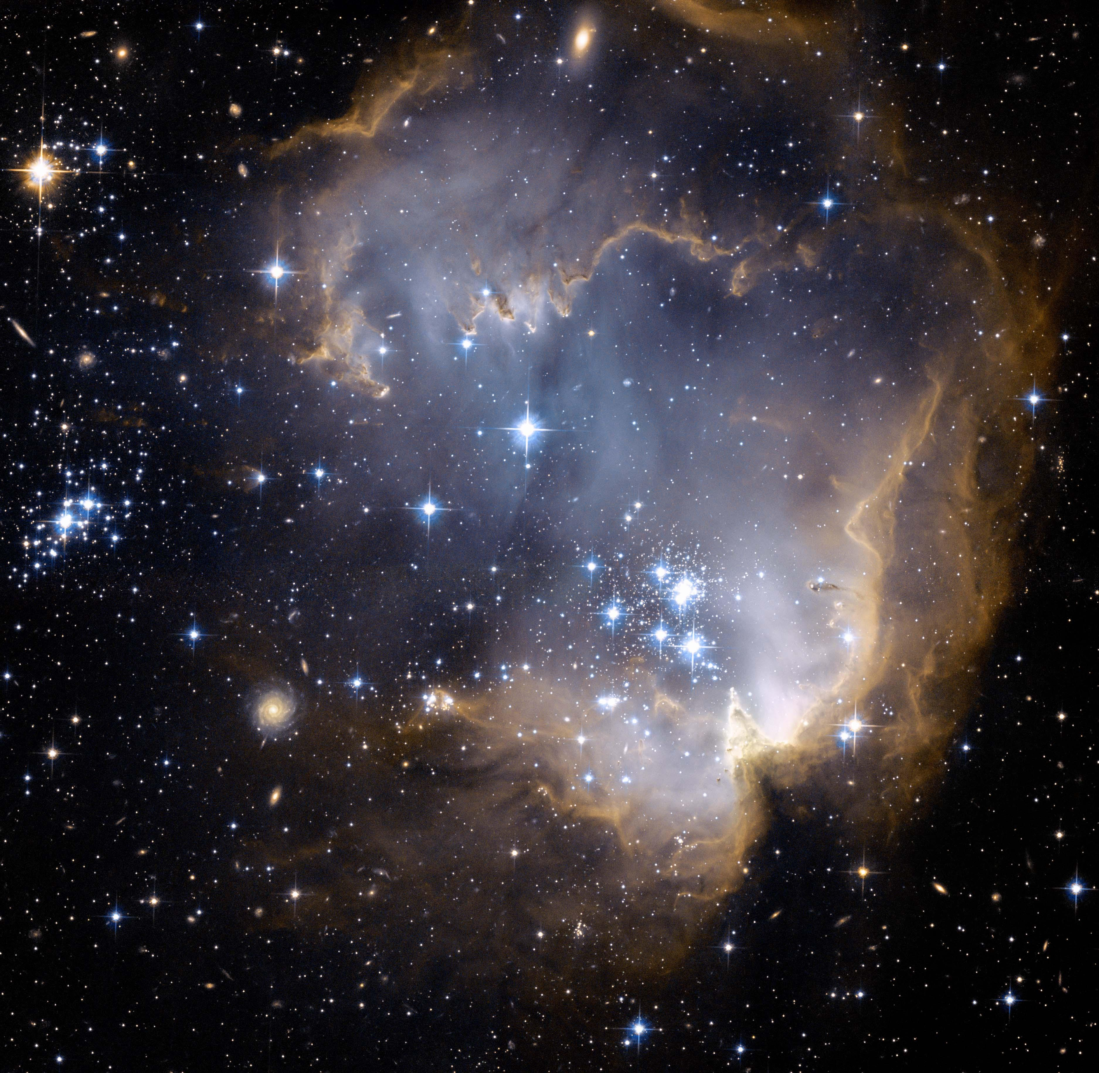 Bright Blue Stars
