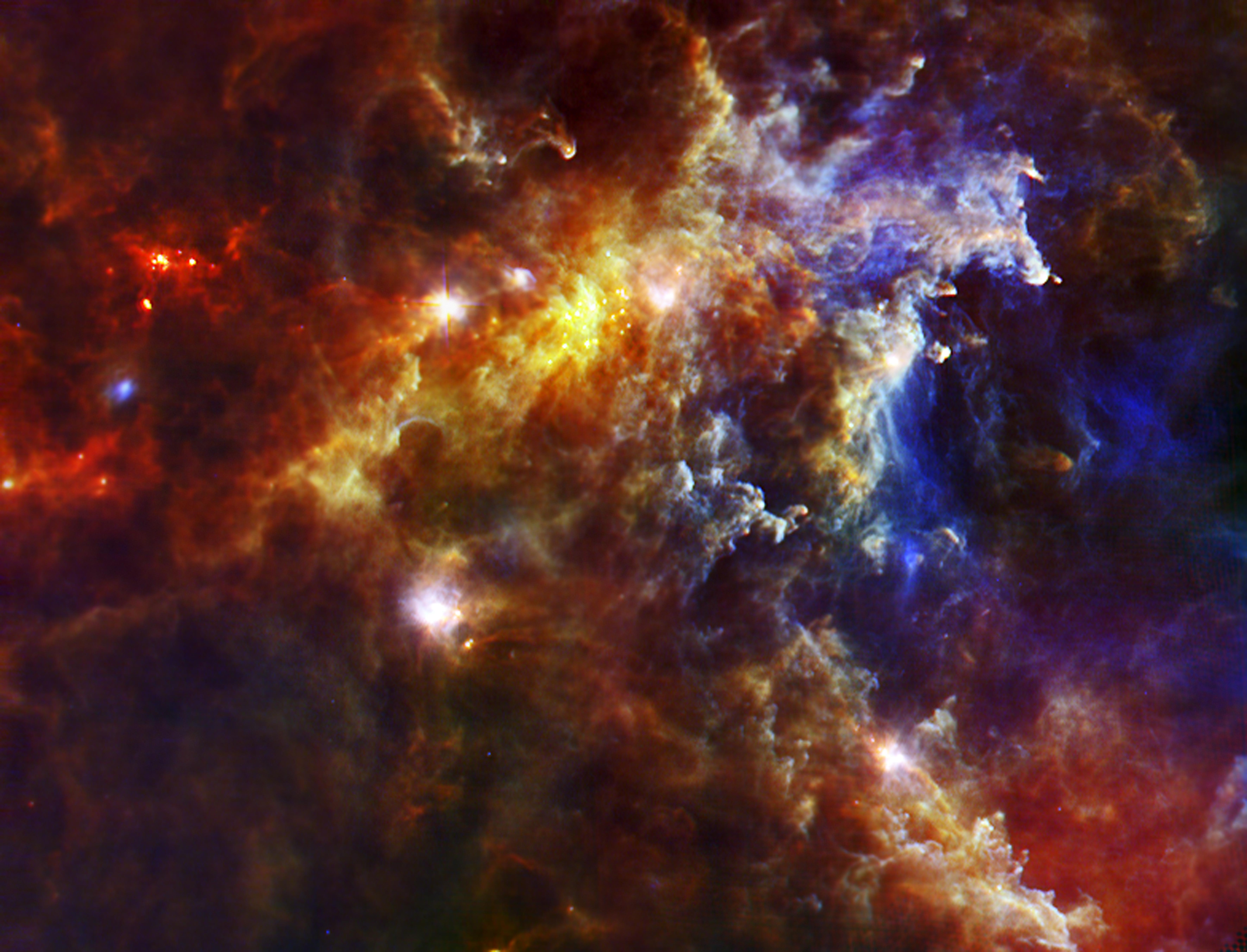 Stellar Nursery in the Rosette Nebula | NASA