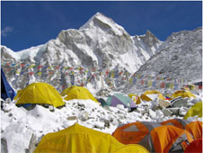 Base camp at Everest