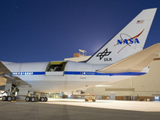 Nighttime operations in early May helped prepare for the May 26 flight.