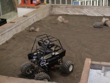 Rover used in Exploration Uplink