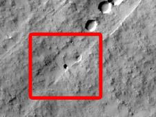 volcano named Pavonis Mons on Mars